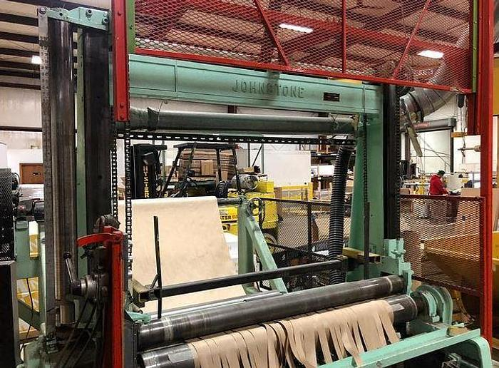 """Used 62"""" WIDE JOHNSTONE TWO DRUM WINDER"""