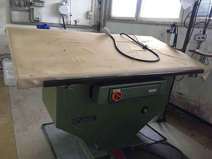 Dämpftisch NOVAKUST  DFT 430 D8  - 175 x 90 cm