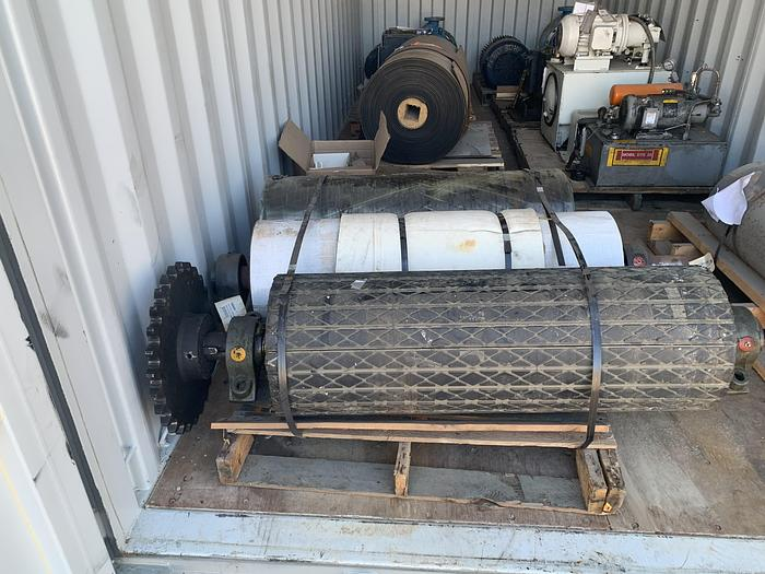 "Used 42"" (1.06M) VOITH BELT PULPER CONVEYOR UNUSED"