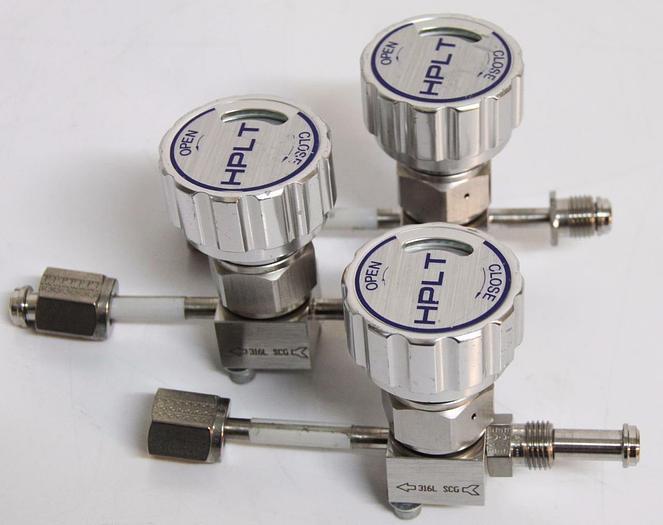Used Parker Titan II Diaphragm Valve M006788 M15038E7 HPLT 150PSI Lot of 3 (4458)