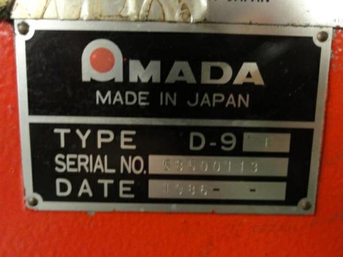 AMADA FAB-8025D 3 Axis CNC Press Brake