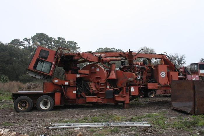 Used MORBARK 30 whole tree Chipper