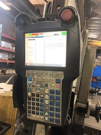 2011 FANUC ARCMATE 120IC/10L GENESIS VERSA 2G DUAL TRUNNION MIG WELDING CELL