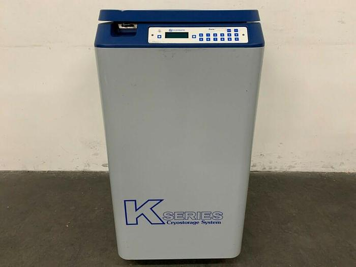 Used Taylor Wharton Kryos 10K K-Series Cryostorage System Liquid Nitrogen Storage