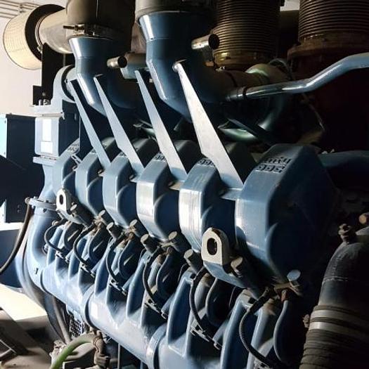 1.24 MW 2006 Used SDMO XS 1550 Diesel Generator