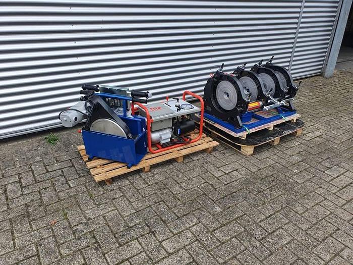 VTT HDPE-BUTT FUSION LAS MACHINE 90-350 mm / 50-200 mm