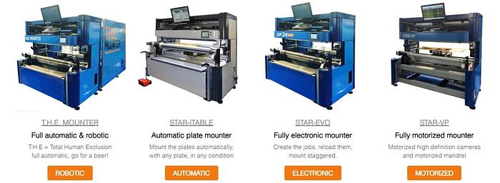 PLATE MOUNTERS (BRAND NEW)