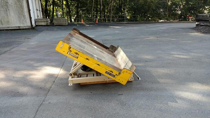 Used Knight 4000 lbs Tilting Lift Table