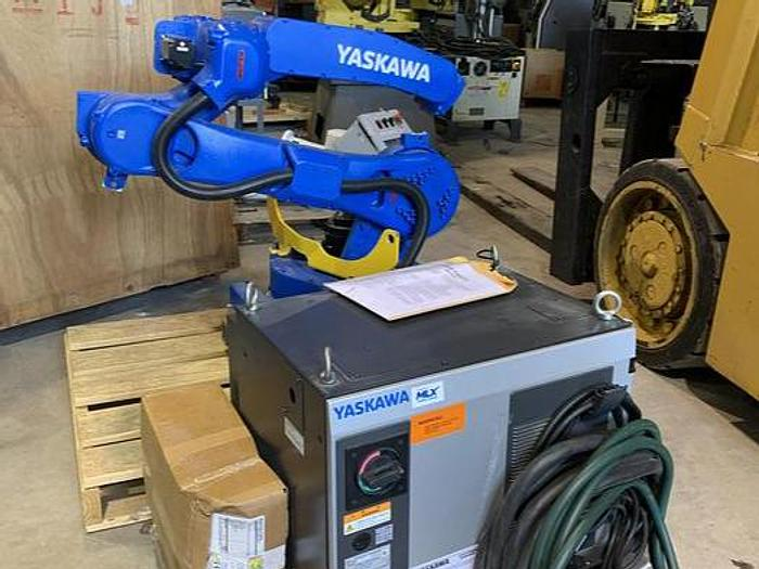Used MOTOMAN GP25 SIX AXIS CNC ROBOT 25KG X 1730 HIGH REACH WITH YRC1000 CONTROLLER NEW 2018