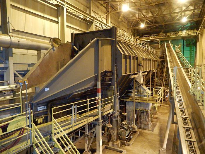 Used KONE VALMET DEBARKING SYSTEM 500 BDST/D SECTION REBUILT 2012