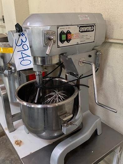 20 Quart Uniworld Planetary Mixer SP200A