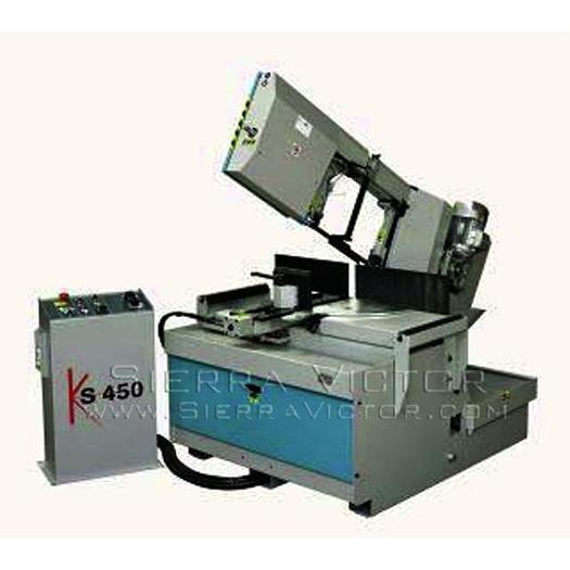 KMT SAW Semi-Automatic Band Saws KS 450