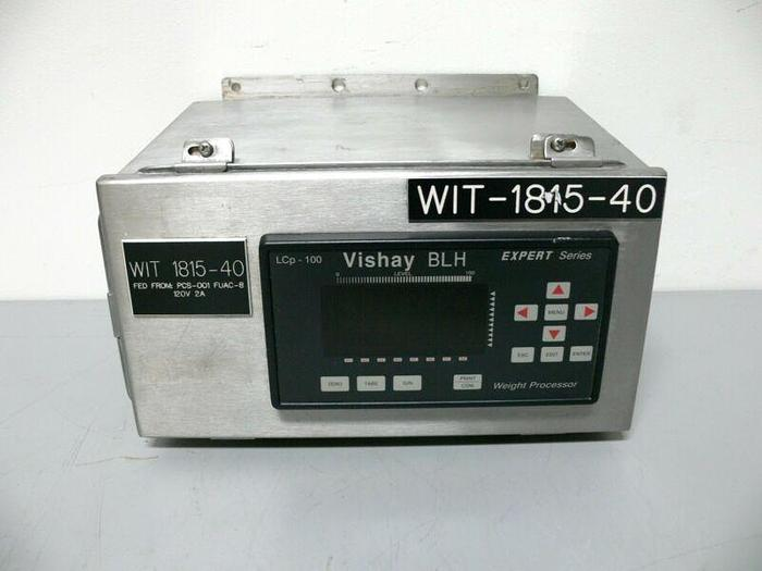 Used Vishay BLH LCp-100 Expert Series Weight Processor In Stainless Steel Enclosure