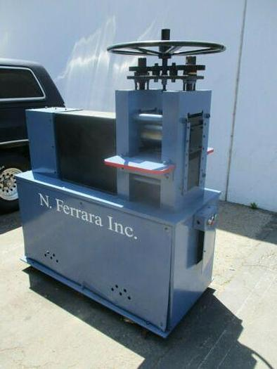 Used N. FERRARA (USA) 2 ROLL MILL FOR GOLD, MEDICAL, PRECISION METAL PROCESSING