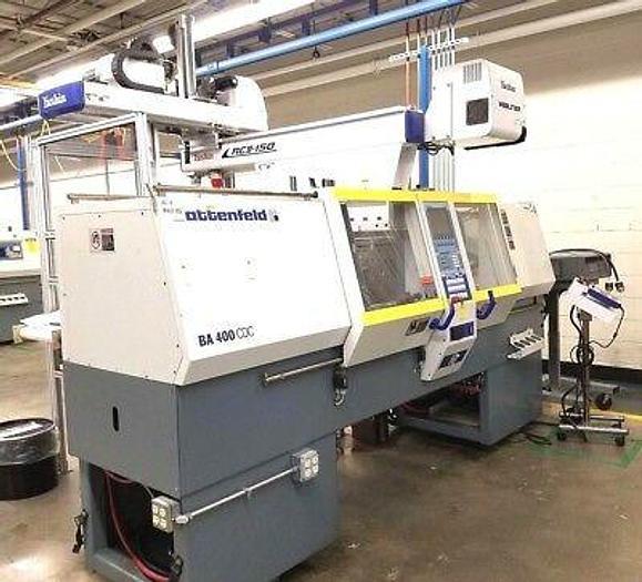 Used Battenfeld BA 400/050 44 Ton Injection Molding Machine Pristine Condition!