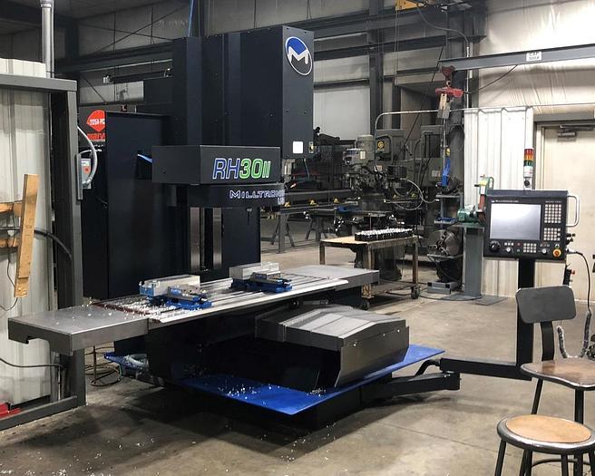 Used Millstronics RH-30II Vertical CNC Bed Type Machining Center