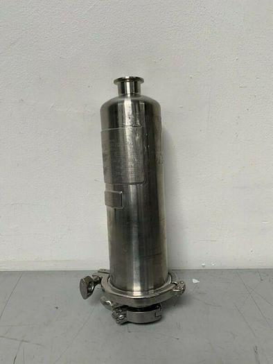 Used Allegheny Bradford US1O1-QT13776-8 Stainless Steel Filter Housing 150PSI