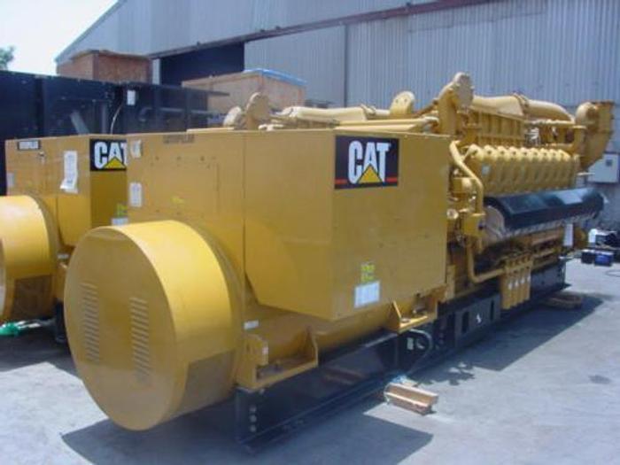 1.95 MW 2007 New Caterpillar G3520C Natural Gas Generator