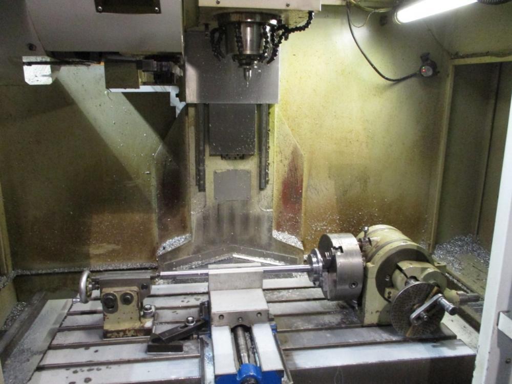 "40""X, 20""Y, 26""Z, MILLTRONICS, VM20, 2008, CNC VERTICAL MACHINING CENTER"