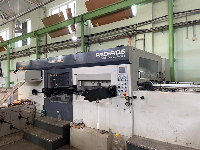 Used YAWA PRO F160 HOT-FOIL AND HOLOGRAM DIE-CUTTER
