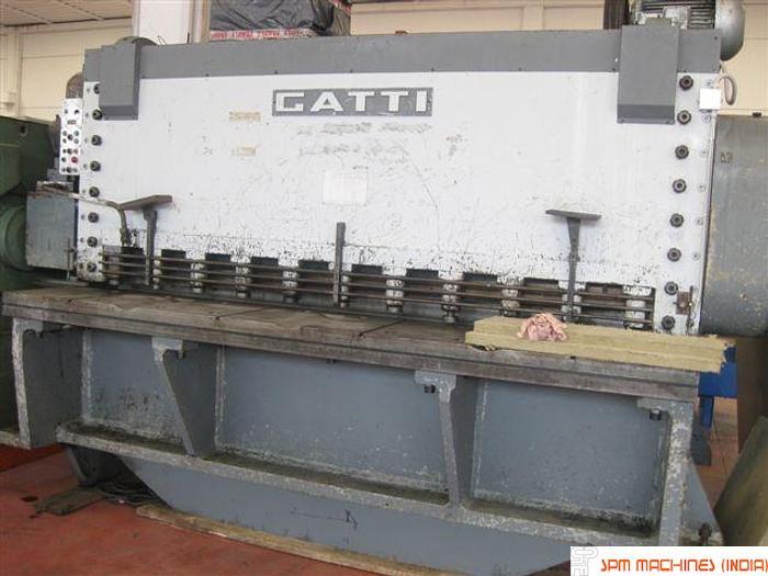Used Gatti 30mm x 3100mm Mechanical Shearing Machine
