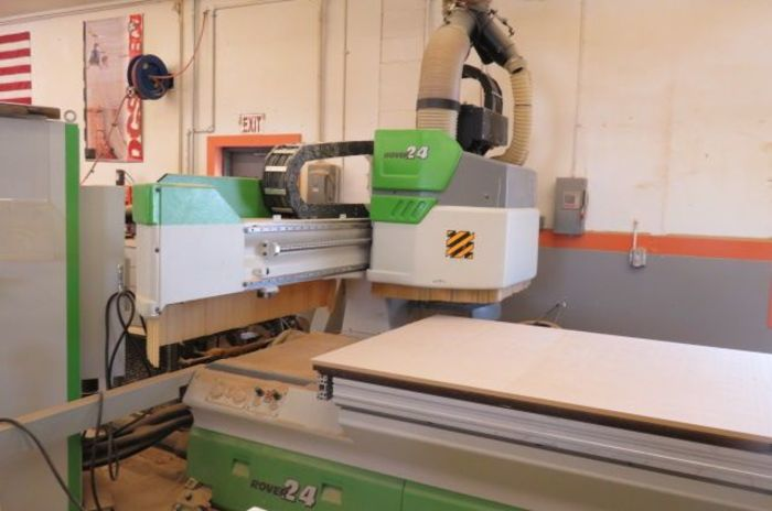 Biesse Rover 24 XL1 CNC Flat Table with 2 tool changers