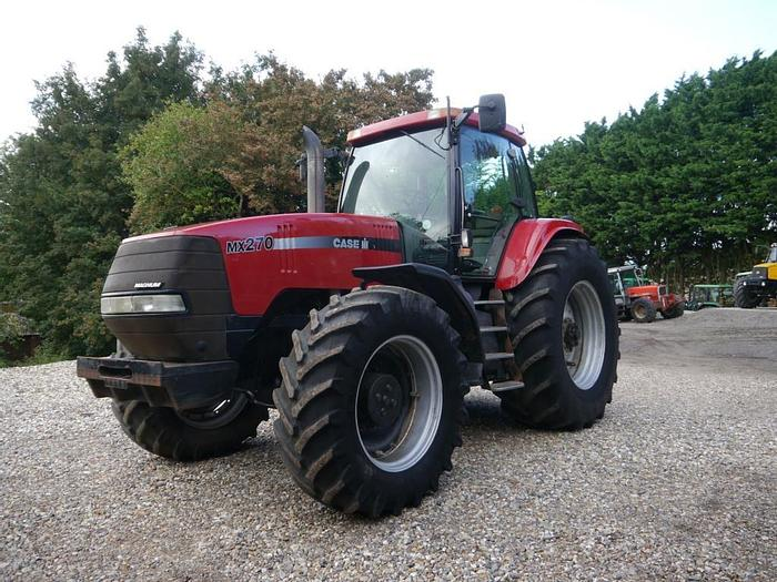 Used Case MX270 4wd Tractor