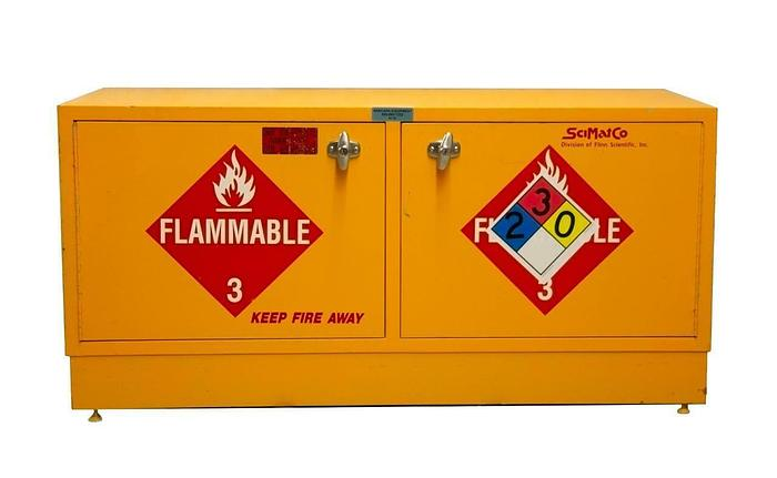 Used SciMatCo Flammable Liquid Safety Cabinet Stak-a-Cab w/ Stand SC1861 USED (9119)R
