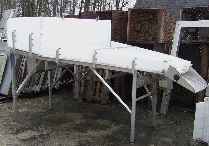 """Used Stół wibracyjny - dozownik produktu na odbiornik ( przenośnik) o szerokości min. 600  mm - """"CABINPLANT"""""""