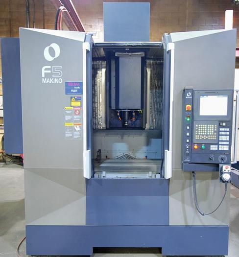 "35""X, 19""Y, 15""Z, 2015 MAKINO F5, CNC VERTICAL MACHINING CENTER"