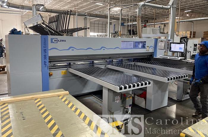 Used 2014 Holzma HPP300 Panel Saw