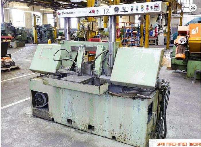 Used Alexander  Triple 12 Band Saw Machine