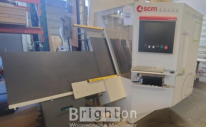 Used 2013 SCM Cyflex F900, used CNC universal boring and grooving centre.
