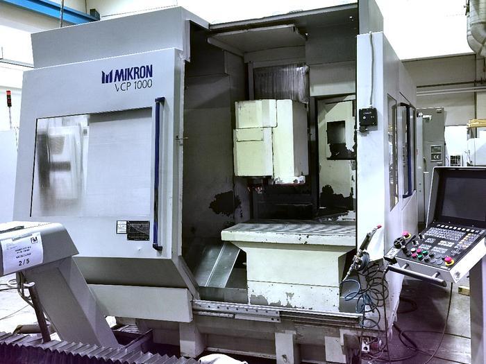 1999 CNC Bearbeitungszentrum Mikron VCP 1000