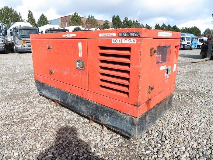 God  2004 HIMOINSA 17 KVA / 22 AMP Generator