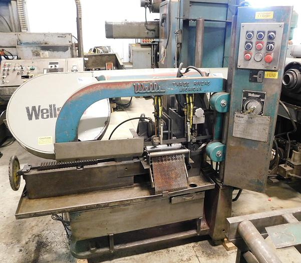 Used Wellsaw Model 1270 Automatic Bandsaw 1270