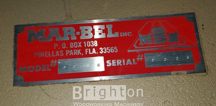 Marbel PR51 Pinch Roller
