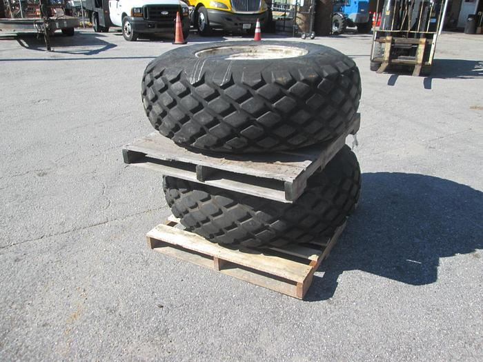 Used Goodyear 16.9-24 Turf Tractor Tires