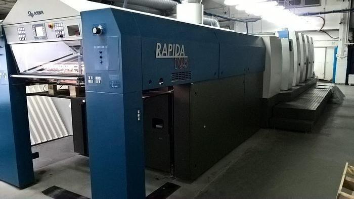 Used KBA Rapida 105-4+L ALV2