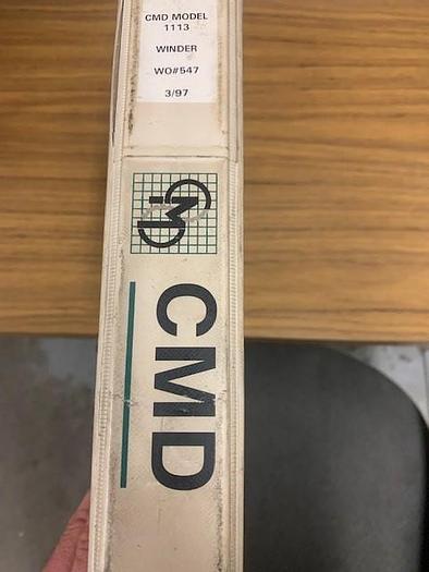 Used CMD Model 1113 LH coreless winder