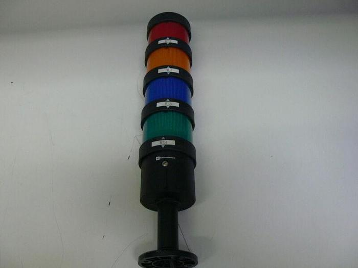 Used Telemecanique 4 Color Stacking Beacon Light