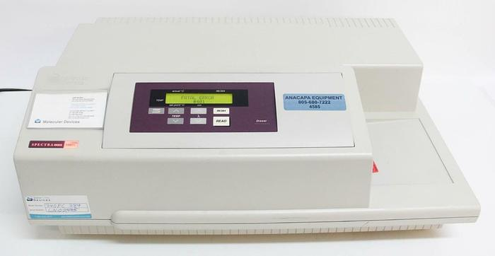 Used Molecular Devices SpectraMax 340PC Microplate Reader / Spectrophotometer (4585)