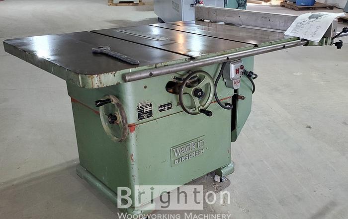 "Used Wadkin 14 AGS used 14"" table saw"