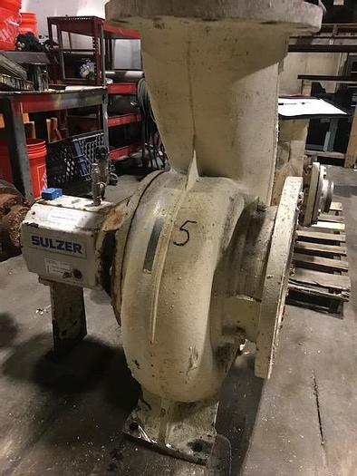 Used VOITH SULZER APT 43-12 CENTRIFUGAL PUMP , S/S  4000 GPM