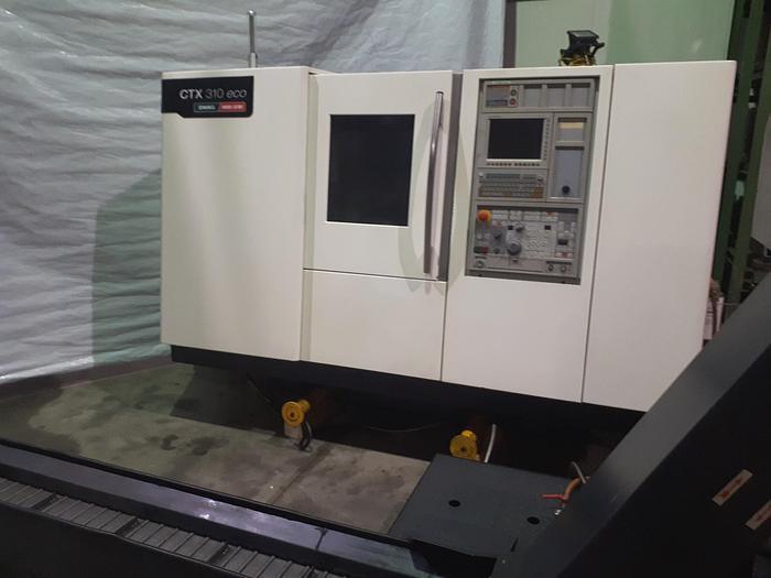 Gebraucht 2011 Mori Seiki CTX310V3 CNC Schrägbettdrehmaschine mit C-Achse +  angetr. Werkzeugen