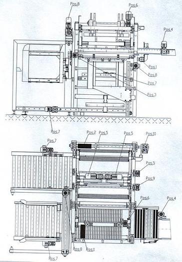 Used Paletyzator LP 163