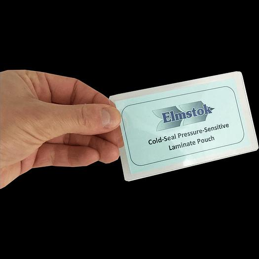 Business Card / Badge Cold Seal Laminate Pouches 66 x 98mm (500) - 37556