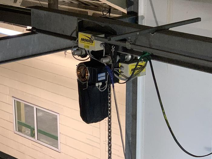 Used MORRIS  Hoist with Trolley