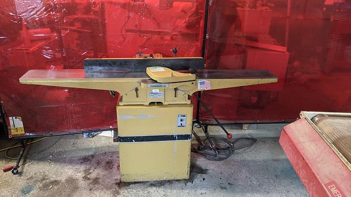 Used Powermatic 60, 8'' Jointer New Byrd Head