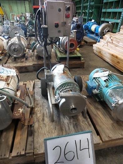 Used C216M Tri- Clover 2''x1 1/2'' Centrifugal Pump #2614